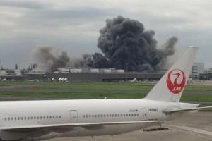 Incendio in una acciaieria in Giappone