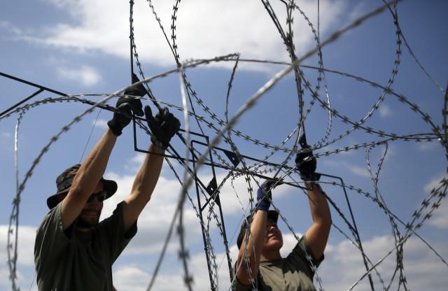 Ungheria, quasi pronto il muro anti-immigrati