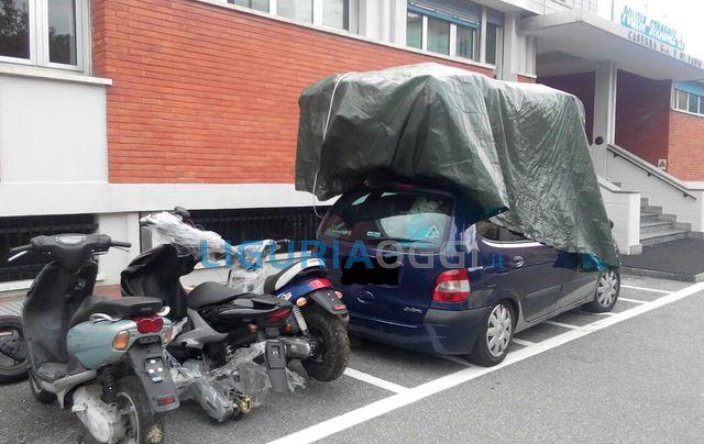 Scooter rubati pronti per partire per la Tunisia