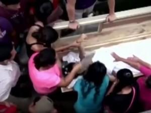 sepolta viva per errore in Honduras