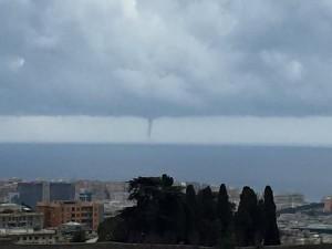 tromba marina a Genova