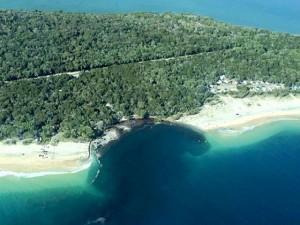 Spiaggia inghiottita dal mare in Australia