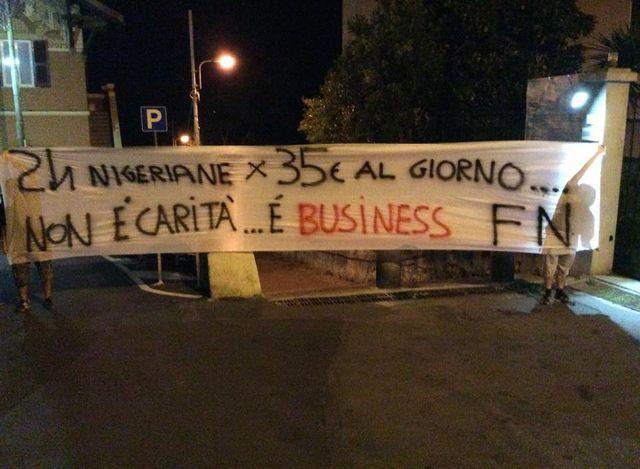 Immigrazione – Forza Nuova contro le suore Gianelline di San Fruttuoso