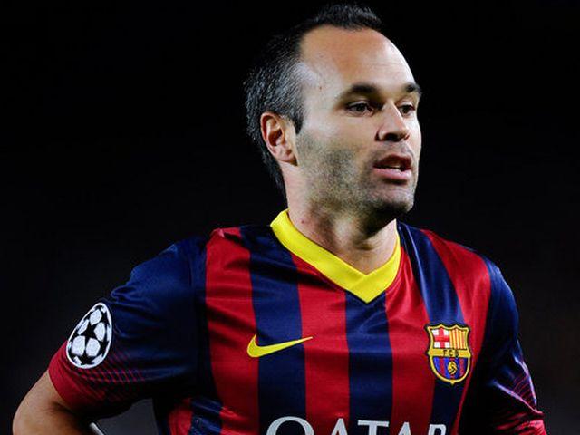 Barcellona, infortunio per Iniesta, fermo per un mese