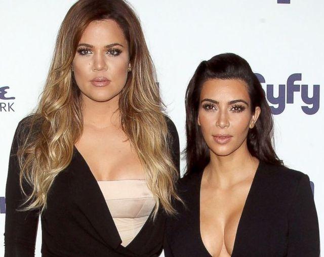 Kim e Khloe Kardashian a San Diego per un test contro il cancro