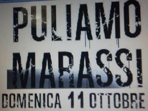 Puliamo Marassi domenica 11 ottobre