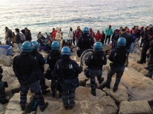 Blitz al confine contro i Migranti