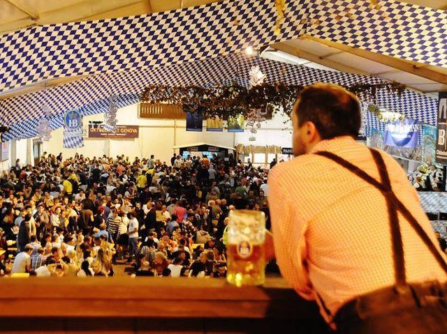Genova, l'Oktoberfest conferma i numeri del 2015. Grande successo per i pack