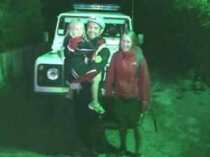 Salvate tre escursioniste tedesche