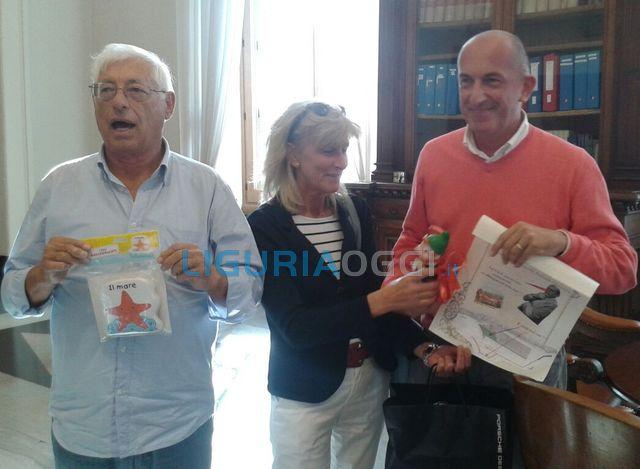 Voltri – Premio Pinocchio 2015 consegnato a Luigi Merlo
