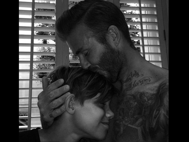 Gossip – David Beckham fa gli auguri al piccolo Romeo con una tenera foto su Instagram