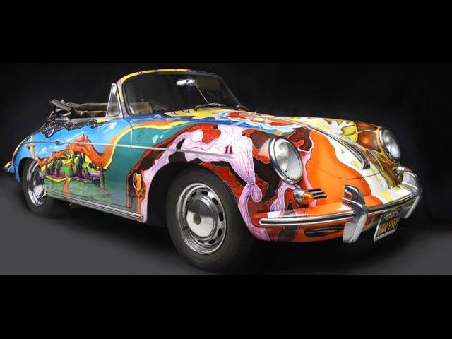 La Porsche di Janis Joplin finisce all'asta da Sotheby's