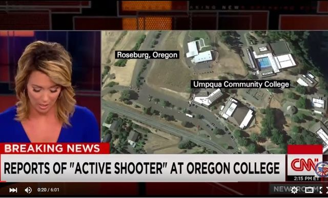 Oregon – Sparatoria in un College a Roseburg, almeno 10 morti e 20 feriti VIDEO