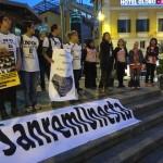 Furbetti del cartellino, Movimento 5 Stelle in piazza per #SanremoOnesta
