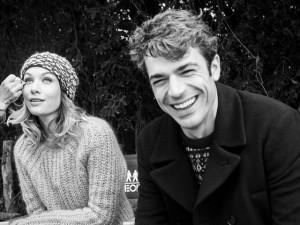 Luca Argentero e Sarah Felberbaum sul set