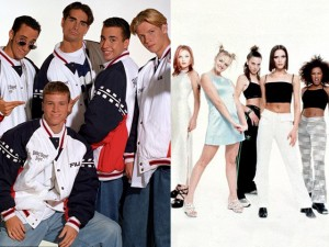 I Backstreet Boys e le Spice Girls