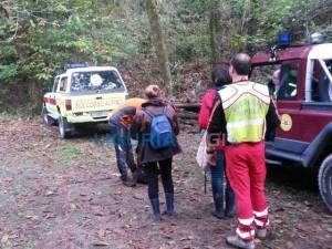 Due donne soccorse nei boschi della Spezia