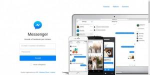 Messenger chat libera anche per i non amici