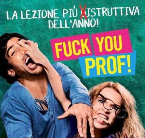 Fuck you, Prof, arriva il trailer in Italiano