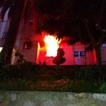 Recco – Incendio in un condominio vicino alla stazione