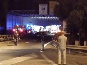 Incidente mortale a Genova Ovest
