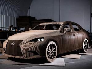 La Lexus Origami Car
