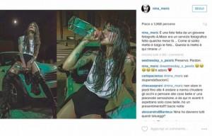 Nina Moric su Instagram