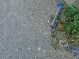 Trappole per topi distrutte a Prà