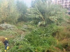 Lavori nel torrente Roja a Ventimiglia