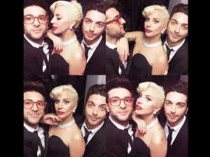 Il selfie con Lady Gaga