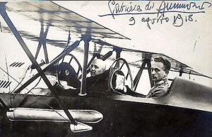 Aereo Ansaldo SVA di Gabriele D'Annunzio