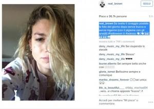 Emma Marrone senza trucco su Instagram