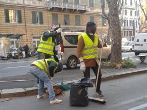 Avviato il progetto savonese che coinvolge i migranti nei lavori socialmente utili (foto d'archivio)