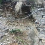 Danni del maltempo, l'assessore Giampedrone assicura 280mila euro per le strade danneggiate