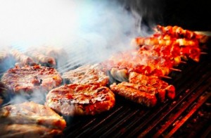 Carne grigliata e fritta