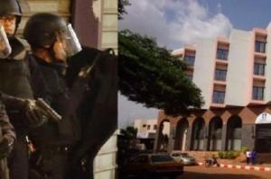 Blitz per la liberazione dell'hotel Radisson Blue