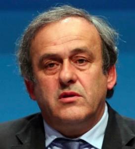 Michel Platini, attuale presidente della UEFA