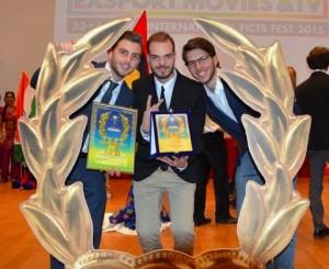 Da sinistra: Gianluca Luciano, Giacomo Fiore e Alessandro Belotti