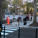 Sestri Ponente, quasi ultimata la nuova piazza Baracca