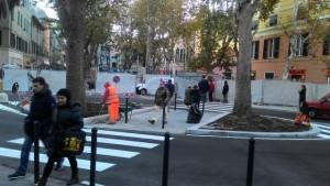 Piazza Baracca quasi ultimata a Sestri Ponente