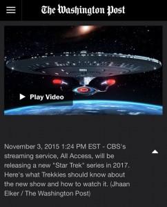 Star Trek, presto una nuova serie