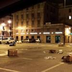 Voltri – Dopo il mercato degli ambulanti regna il degrado