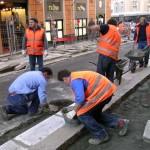 Genova, iniziata la pedonalizzazione di piazza Remondini