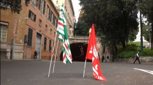 Corteo Iren in centro a Genova