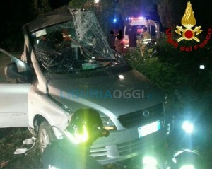Incidente mortale a Deiva Marina