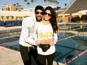 Michael Phelps e Nicole Johnson