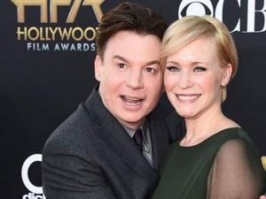 Mike Myers e la moglie