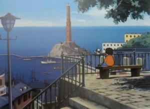 Il cartone ambientato a Genova