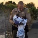 Neonata sepolta viva a Los Angeles, la polizia la salva