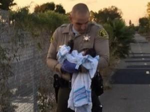 neonata sepolta viva a Los Angeles